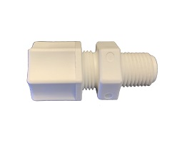 1064-K Male Connector 3/8 OD Compression Fitting x 1/4 NPT Pipe