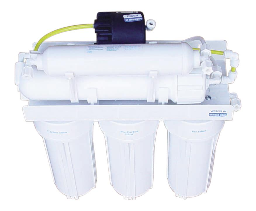 .RO585ERP 5-stage RO Reverse osmosis system with permeate pump