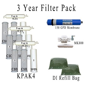 Value Pack- Entire 3 Years of Replacement Filters Bundle AR125