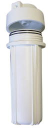701, FH1014 Filter Housing Chamber Casing White Color 1/4 FPT