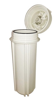 701S, Filter Housing Honeywell White Color Single O-ring Type