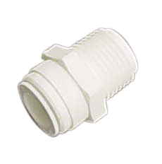 AMC-0404 Male Connector NPT Thread Quick Connect Fitting 1/4 1/4
