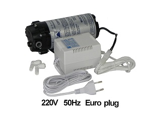 AQUATEC CDP 8852-2J03-B424 Booster Pump 220V Euro Transformer