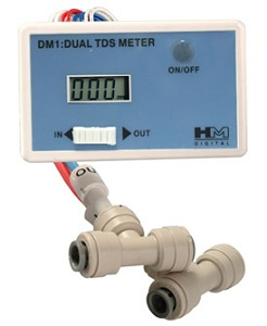 DM-1, Inline Dual TDS monitor (meter) for RO DI System DM1