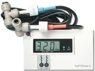 DM-2, Inline Dual TDS monitor (meter) for RO DI System DM2