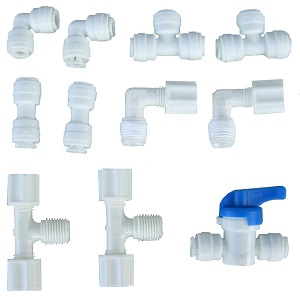 "FPK11, High Quality Fitting and Connector 1/4"" (Value-Pack)"