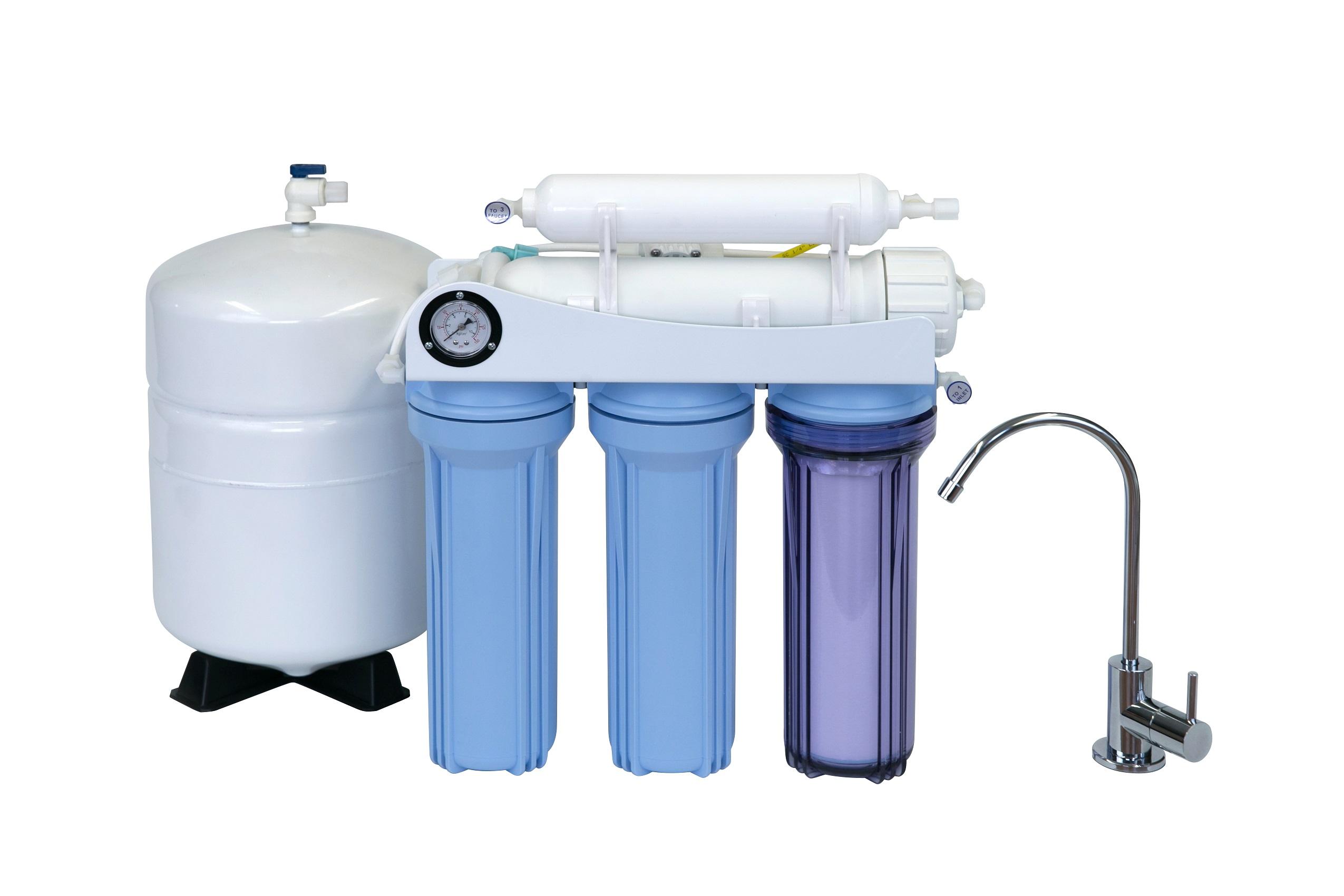 KoolerMax K-5 REVERSE OSMOSIS RO WATER FILTER SYSTEM DRINKING USA ...