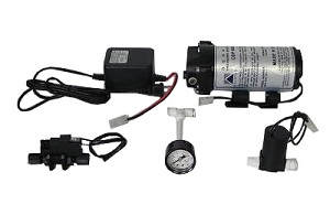 SET68, AQUATEC 6840 Pump Set Solenoid ESO Pressure Switch Power