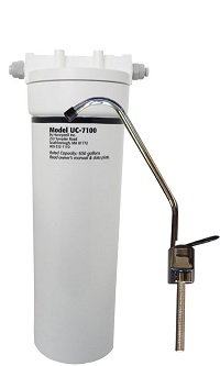 UC7000 HONEYWELL UNDER THE COUNTER WATER FILTER (WHITE, LARGE)