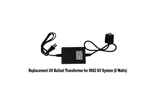TMR-UV-6W, Replacement UV Ballast Transformer 6 Watts for 602 UV