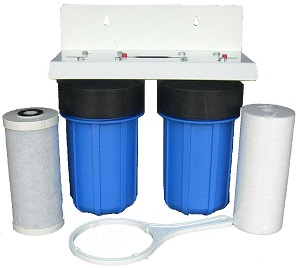 WH1134 Whole House Restaurant Filter System Sediment Carbon Big