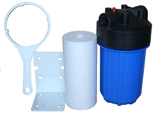 "WH-5, Whole House Water Treatment Sediment Filter System 10"" Big"